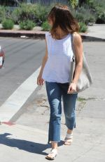 MINKA KELLY Out Shopping in Los Angeles 03/31/2016