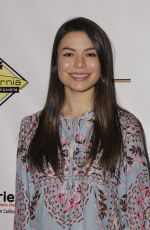 MIRANDA COSGROVE at Milk + Bookies 7th Annual Story Time Celebration in Los Angeles 04/17/2016