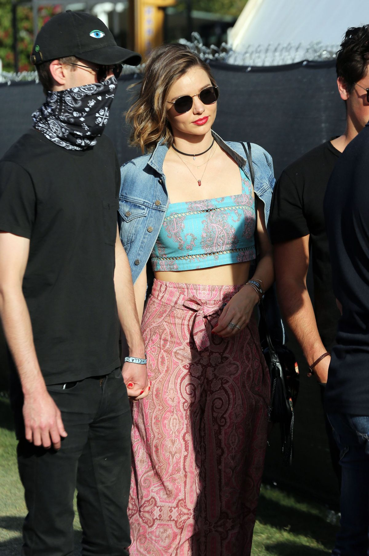 MIRANDA KERR at Coachella Valley Music and Arts Festival in Indio 04/15/2016