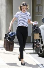 MIRANDA KERR Out and About in Los Angeles 04/21/2016