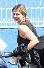 MISCHA BARTON Arrives at Dancing with the Stars Rehearsals in Hollywood 03/31/2016