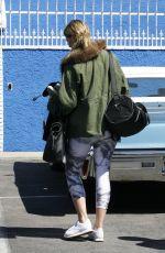 MISCHA BARTON at DWTS Studios in Hollywood 04/02/2016