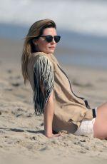 MISCHA BARTON in Bikini on the Set of a Photoshoot in Santa Monica 04/29/2016