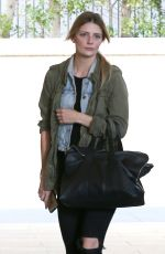 MISCHA BARTON Out and About in Beverly Hills 04/11/2016