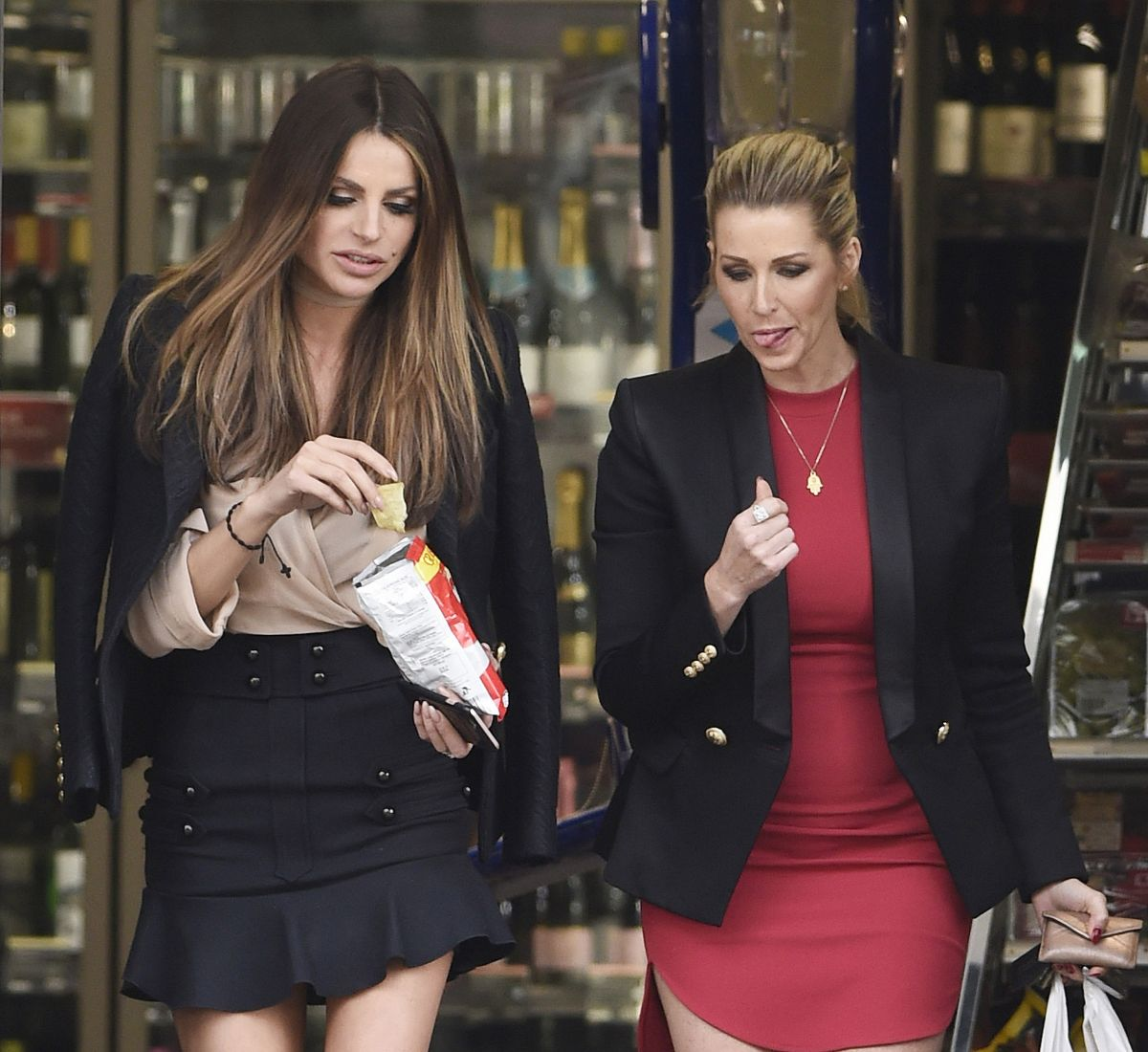 MISSE BEQIRI and LEANNE BROWN Out in Wilmslow 04/25/2016