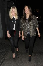 MOLLIE KING and FRANKIE BRIDGE at 1883 Launch Party in London 03/16/2016