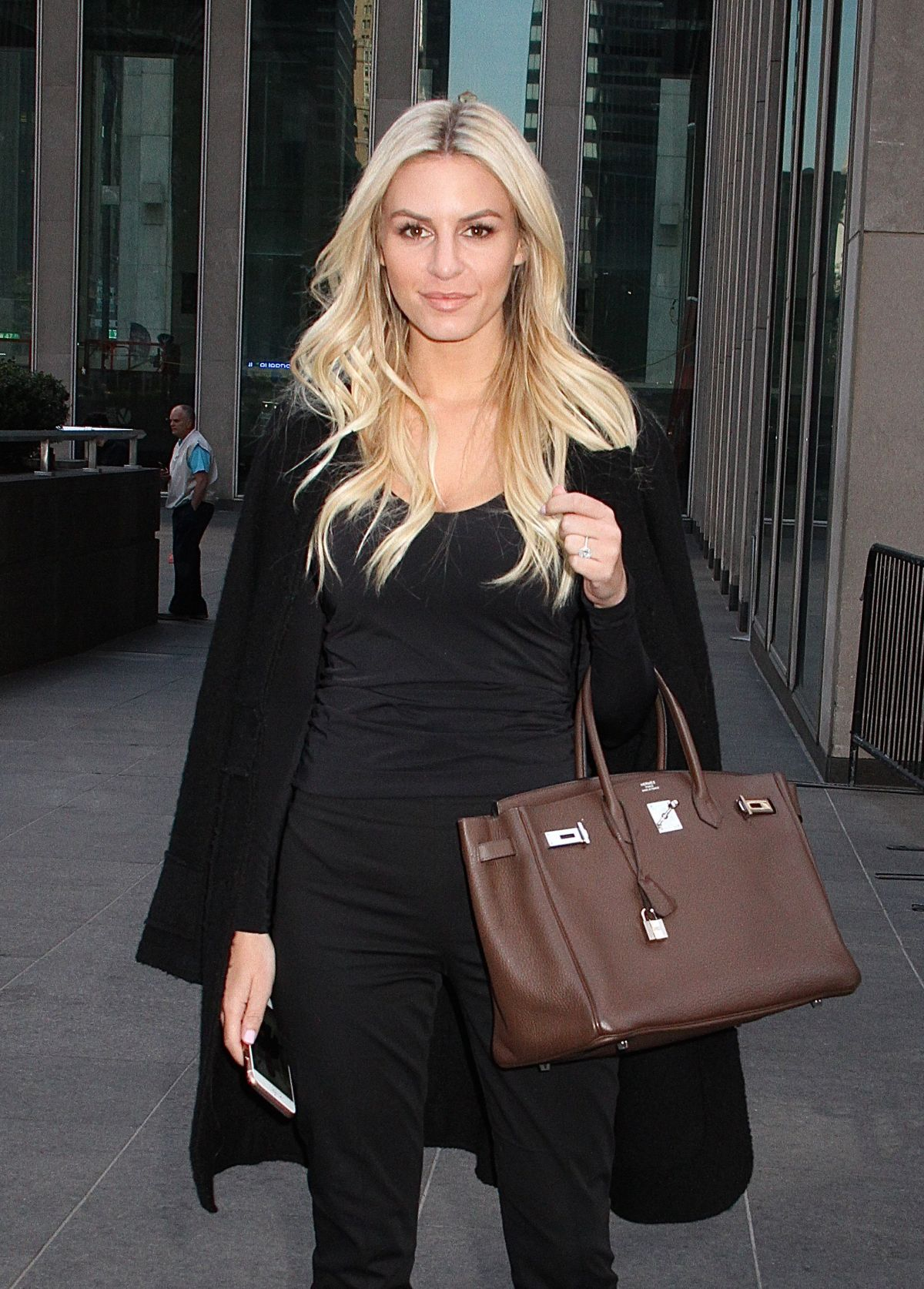 MORGAN STEWART Out and About in New York 04/27/2016