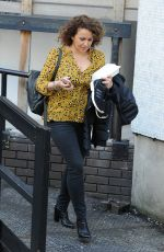 NADIA SAWALHA at ITV Studios in London 04/28/2016