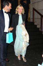 NAOMI WATTS Arrives at Tiffany & Co. Blue Book Gala in New York 04/15/2016