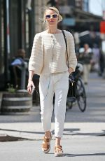 NAOMI WATTS Out and About in New York 04/18/2016