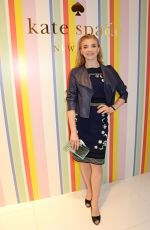 NATALIE DORMER at Kate Spade New York Store Opening in London 04/21/2016