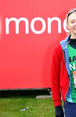 NATALIE DORMER at the London Marathon 04/24/2016