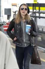NATALIE DORMER Out and About in London 04/27/2016