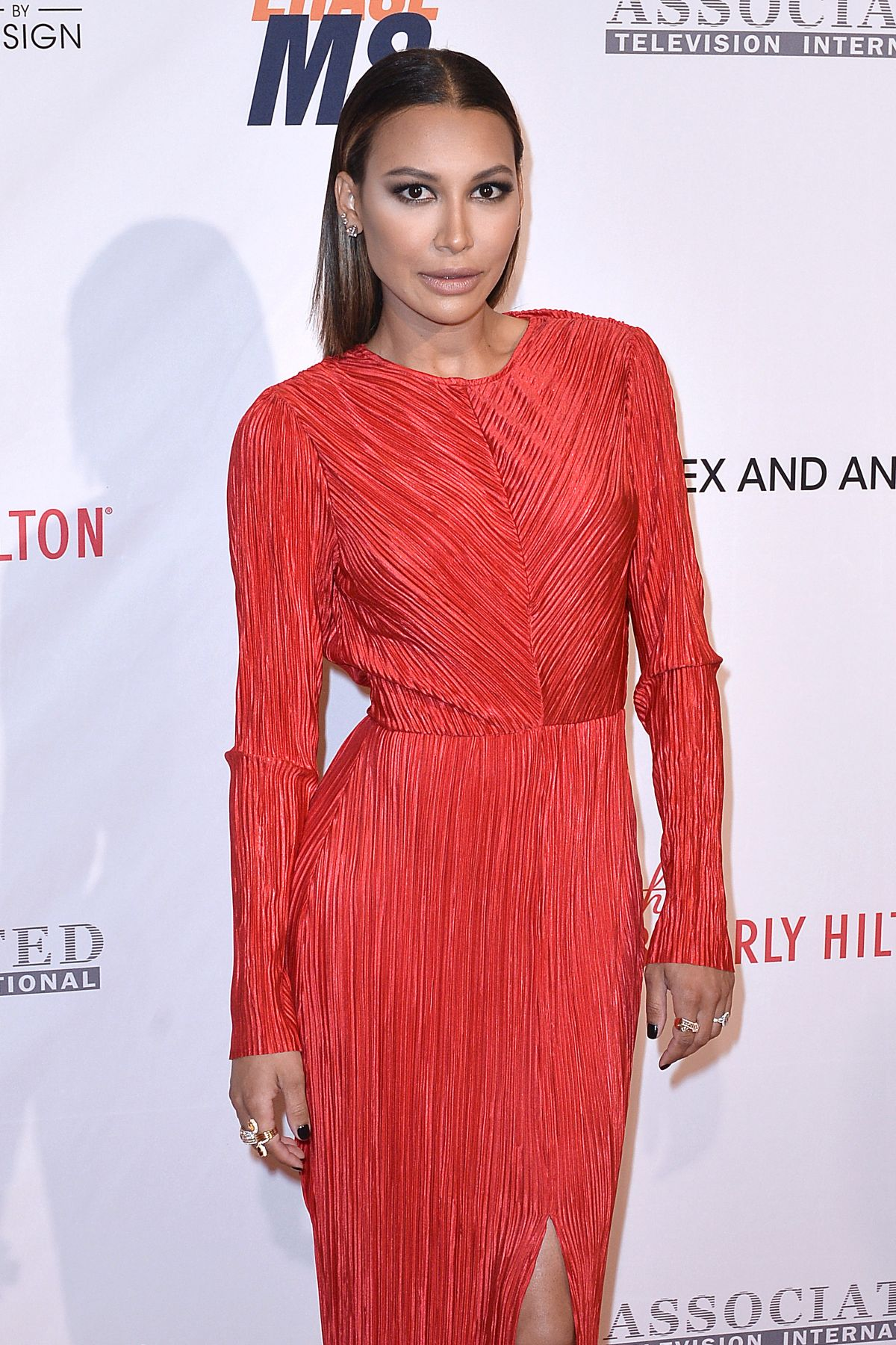 NAYA RIVERA at 23rd Annual Race To Erase MS Gala in Beverly Hills 04/15/2016