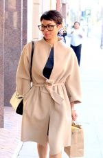 NIA LONG Out and About in Beverly Hills 04/14/2016