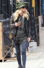 NICKY HILTON Out and About in New York 03/31/2016