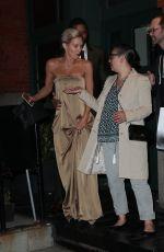 NICKY WHELAN Leaves Tribeca Grill Restaurant in New York 04/17/2016
