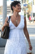 NICOLE MURPHY Out and About in West Hollywood 04/22/2016