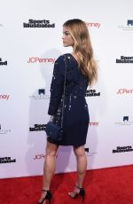 NINA AGDAL at Sports Illustrated Fashionable 50 Event in New York 04/12/2016