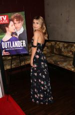 OLASYA RULIN at TV Guide Magazine & Starz Celebration of Outlander in West Hollywood 03/30/2016