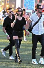 OLIVIA CULPO at 2016 Coachella Valley Music and Arts Festival in Indio 04/16/2016