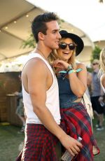 OLIVIA HOLT at Coachella Valley Music and Arts Festival, Day 2 04/16/2016
