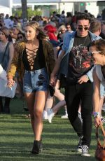 OLIVIA HOLT at Coachella Valley Music and Arts Festival in Indio 04/15/2016