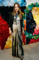 OLIVIA WILDE at H&M Conscious Exclusive Event in New York 04/04/2016
