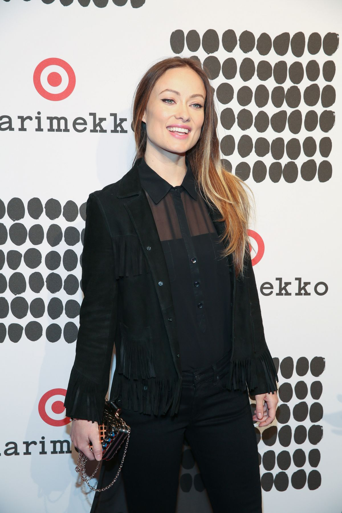 OLIVIA WILDE at Marimekko for Target Launch Celebration in New York 04/07/2016