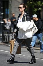 OLIVIA WILDE Out Shopping in New York 04/14/2016