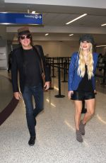 ORIANTHI at LAX Airport in Los Angeles 04/08/2016