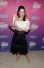 PAGET BREWSTER at TV Land Icon Awards in Santa Monica 04/10/2016