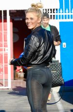 PAIGE VANZANT Arrives at DWTS Studio in Hollywood  04/01/2016