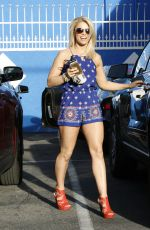 PAIGE VANZANT at Dancing with the Stars Rehersal in Hollywood  03/14/2016