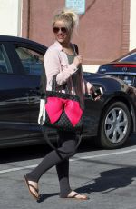 PAIGE VANZANT at Dancing with the Stars Rehersal in Hollywood  04/15/2016