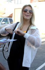 PAIGE VANZANT at Dancing with the Stars Rehersal in Hollywood  04/24/2016