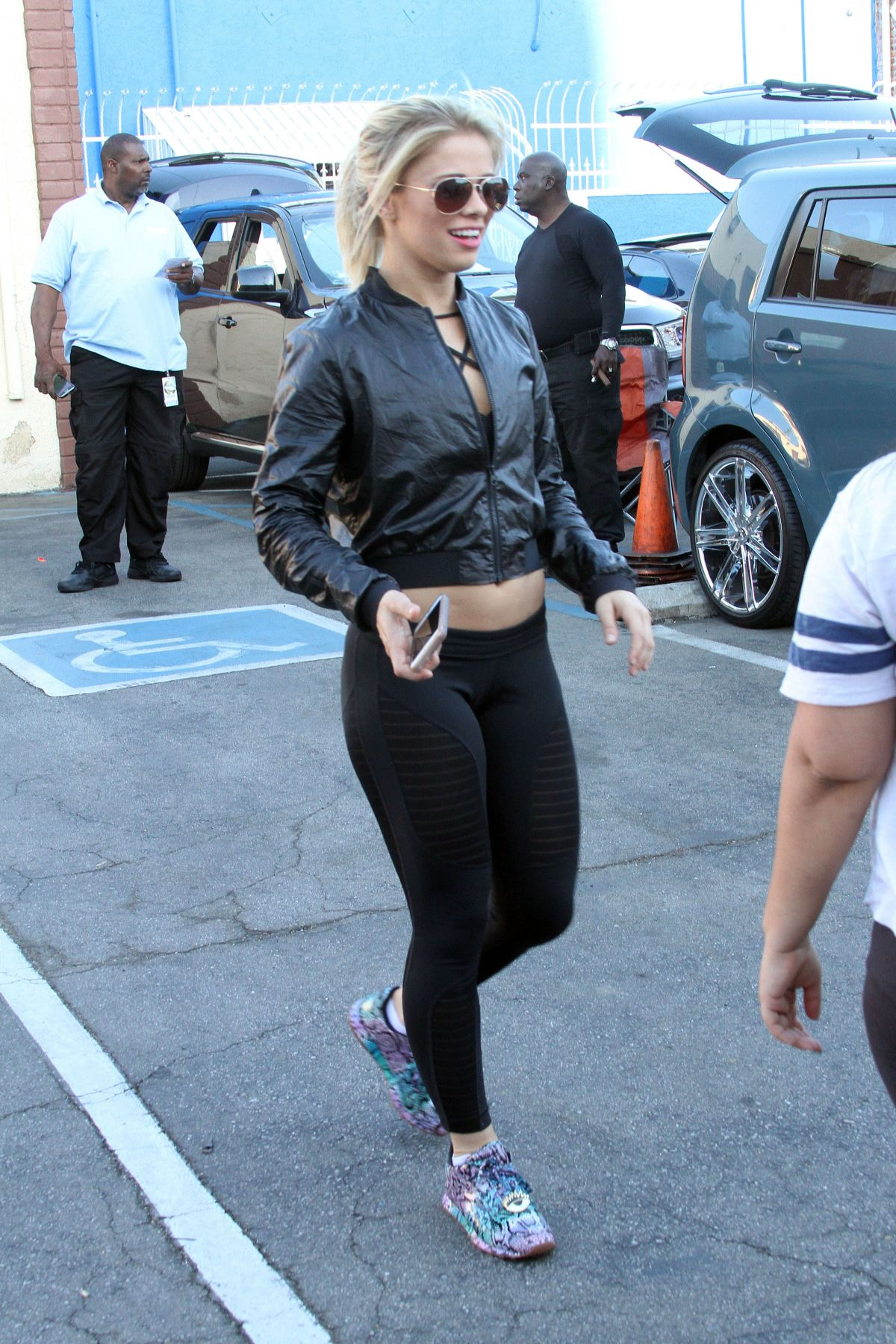 paige vanzant at dwts rehersal in hollywood 04172016