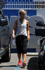 PAIGE VANZANT Leaves DWTS Studio in Hollywood  04/20/2016