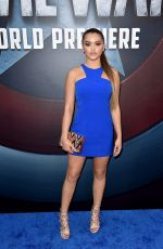 PARIS BERELC at Captain America: Civil War Premiere in Los Angeles 04/12/2016