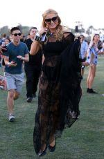 PARIS HILTON at Coachella Valley Music and Arts Festival in Indio 04/15/2016