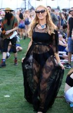 PARIS HILTON at Coachella Valley Music and Arts Festival in Indio 04/15/2016