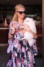 PARIS HILTON Shopping at Anastasia in Beverly Hills 04/21/2016