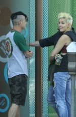 PARIS JACKSON Out in Beverly Hills 03/15/2016