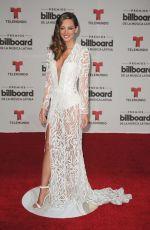 PATRICIA ZAVALA at Billboard Latin Music Awards in Miami 04/28/2016