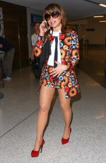 PAULA ABDUL at LAX Airport in Los Angeles 04/20/2016