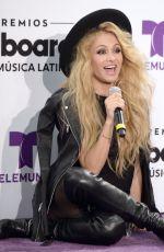 PAULINA RUBIO at Billboard Latin Music Awards in Miami 04/28/2016