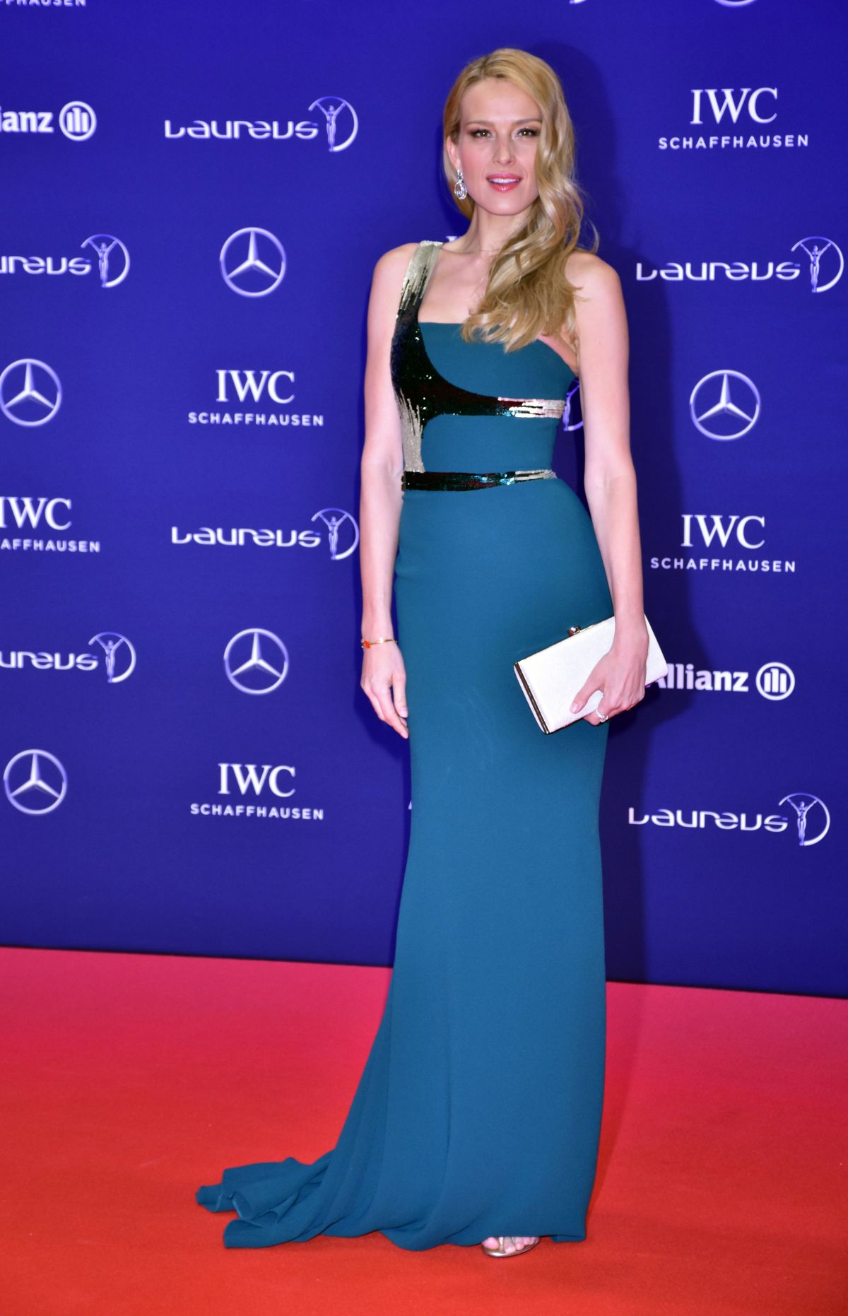PETRA NEMCOVA at Laureus World Sports Awards in Berlin 04/18/2016