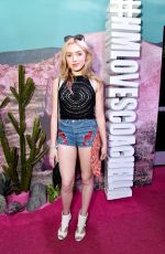 PEYTON LIST at H&M Loves Coachella Pop Up in Indio 04/15/2016