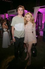 PEYTON LIST at Nylon Midnight Garden Party at Coachella 04/15/2016