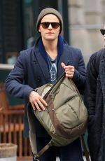 PHOEBE TONKIN and Paul Wesley Out in New York 03/25/2016